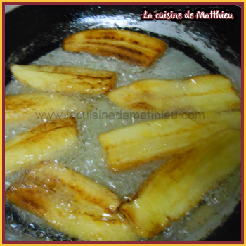 photo 1 : Banane frit