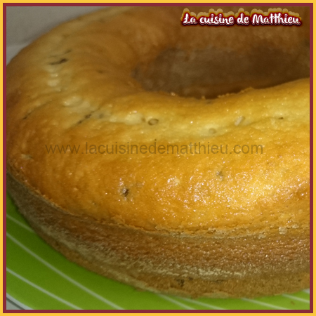 photo 0 : Gateau aux yaourt facile avec vermicelle de chocolat