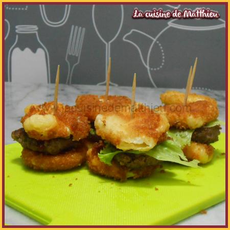 photo 3 : Mini burger babybel