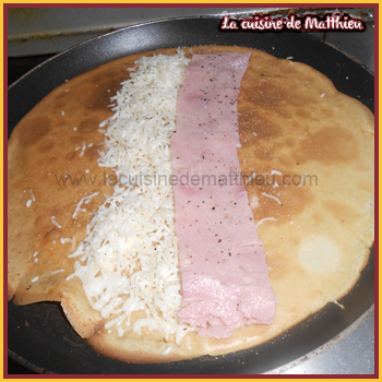 photo 2 : Crepes jambon fromage