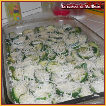 photo 1 : Gratin de courgettes
